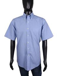 Details About Brooks Brothers Mens Shirt Short Sleeve Checks Size L