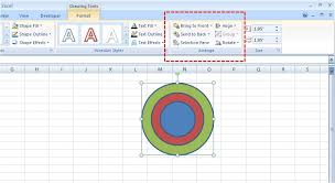 Concentric Circles In Ms Excel Powerpoint Word Prashant99