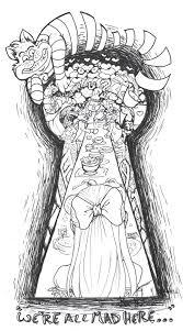 Alice In Wonderland Tattoo алиса в стране чудес идеи для