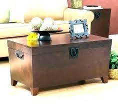 storage trunk coffee table diy storage trunk