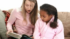 best part time jobs for high school students babysitting babysitter reading a book to a girl
