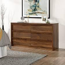 Harvey Park 6 Drawer Grand Walnut Dresser