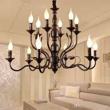 vestibule 10 black rustic candle chandeliers for dining room portico wrought iron chandelier foyer kitchen led candelabro chandelier with fan girls room