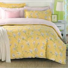 light yellow country cotton fl queen comforter sets