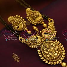 nagas antique temple laxmi mangalsutra indian traditional auious