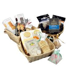 add a gift basket to create a tea and cookie gift basket
