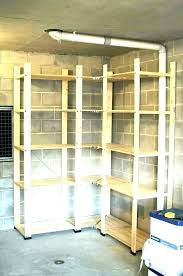 storage shelf ideas overhead garage shelving shelves racking for ikea storage shelf