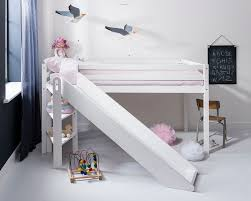 childrens beds with slides. Cabin Bed Midsleeper Johan With Slide Kids Childrens Beds Slides
