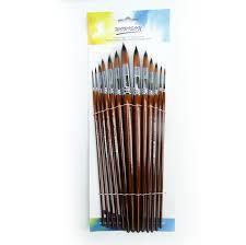 Worison Artist <b>13pcs Round</b> Paintbrush Set | Crafts Village ...