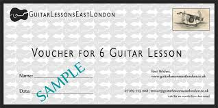 Guitar Lesson Gift Certificate Template Music Gift Certificate Template Zaxa Tk