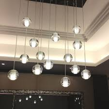 light lighting floating bubble chandelier with ceiling also wall