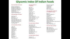 Brown Basmati Rice Glycemic Index Chart Glycemic Index Of Indian Foods Glycemic Index Of Indian