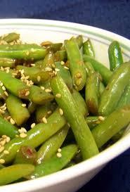 Wok Or Skillet Asian Style Fresh Green Beans