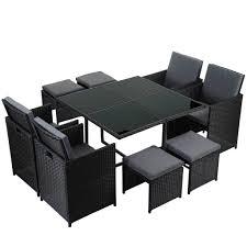 Poly Rattan Garten Garnitur Kreta Lounge Set Real