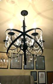chandeliers chandelier restoration hardware orb installation hardwar