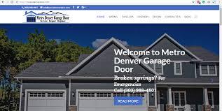 Metro Denver Garage Door - SourceOne Technologies