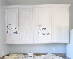 Delighful Painting Oak Kitchen Cabinets White Using Cabinet Intended Design Inspiration