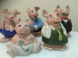 NATWEST PIGS COMPLETE set in great condition (Wade Piggy Bank), - £49.00 |  PicClick UK