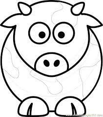 Small Picture Cow Coloring Page Free Cow Coloring Pages ColoringPages101com