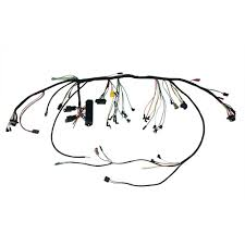 mustang under dash wiring harness with premium fuse box and relays 65 mustang engine wiring harness at Under Dash Wiring Harness