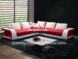 practical sofa design modern manufacturing latest design sofa set red white