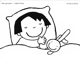 Kleurplaat Anna Gaat Slapen Verteltas Peuters סיפורי ילדים