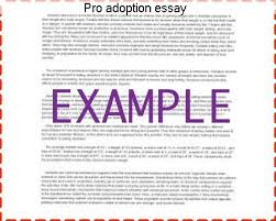 pro adoption essay term paper academic service pro adoption essay