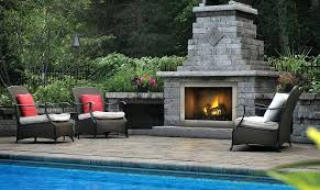 gas outdoor fireplaces picture outdoor natural gas fireplaces canada