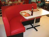 ... L Shaped Diner Booths
