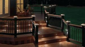 inexpensive lighting ideas. Deck Railing Lights Ideas Set Of 6 Solar Decking And In Lighting Renovation Architecture Inexpensive