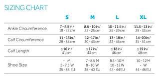 Compression Socks Sizes Chart Top Derby Trig Compression Socks 15 20 Mmhg