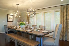 best rustic dining room table with bench impressive small dining