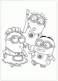 You can make the coloring session fun and interactive by narrating the stories or. Despicable Me Printable Coloring Pages Coloring Home