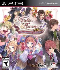 koei tecmo i am only myself atelier rorona plus cover