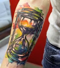 фото и значение тату песочные часы