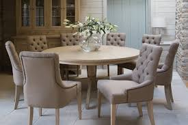 neptune round dining table with chairs