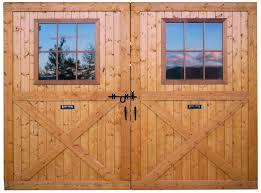 Large Breezeway Sliding Track Barn Doors With Window