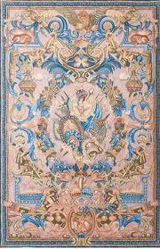 heraldic panel blazon large tapestry