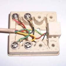 how to wire a telephone jack how to wire a phone jack for internet at Dsl Phone Jack Wiring Diagram
