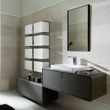 Porcelanosa Bathroom Accessories Wall Hung Washbasin Cabinet Wooden Contemporary With Drawers