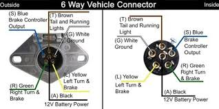 wiring diagram for 6 prong trailer the wiring diagram 6 way trailer wiring nilza wiring diagram