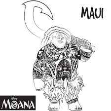 Printable Top 10 Moana Coloring Pages Free Printables Free