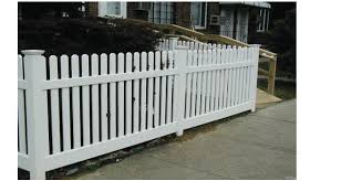 Vinyl Picket Fences Above All Fence Quality Fence Long Island
