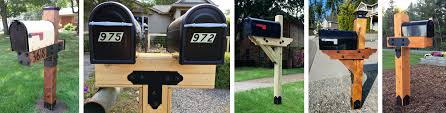 Mailbox post plans Simple Mailbox Project Plans Ozco Building Products Mailbox Post Plans Archives Ozco Building Products