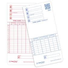 Bi Weekly Time Card Bi Weekly Time Card Double Sided 3 3 8 X 7 1 4 Time Clock Market