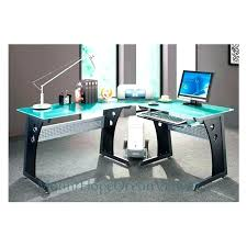 glass corner office desk. glass corner office desk small computer large size of gorgeous latest decorating ideas with gla . e