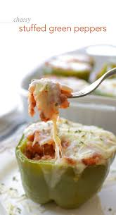 easy home cooked dinner ideas. cheesy stuffed green peppers. new recipesamazing easy home cooked dinner ideas