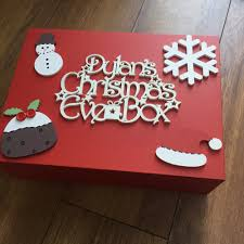 Plain Wooden Boxes To Decorate Look at this joyful Christmas Eve box You could get one of our 59