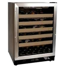 haier wine refrigerator.  Refrigerator Haier HVCE24CBH BuiltIn Or Freestanding 50Bottle Wine Cellar With LED  Display To Refrigerator 1