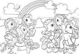 Fantastic My Little Pony Printable Coloring Pages Photo Coloring